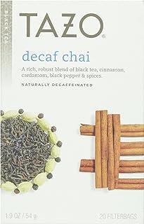 Tazo Tea, Chai Decaf Tea, Tea Bags, 20 ct