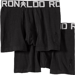 CR7 Cristiano Ronaldo - Pack de 2 Calzoncillos (algodón elástico)