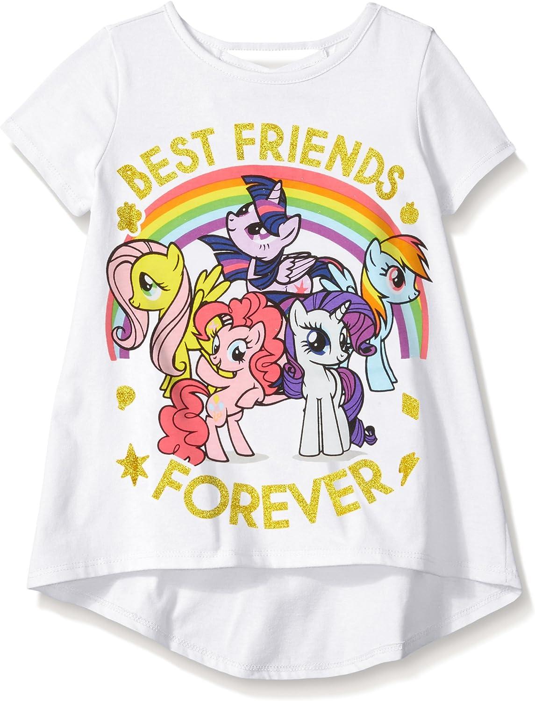 My Little Pony Stylin Kid/'s Black T-Shirts
