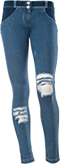 WR.UP Low Rise Distressed Denim