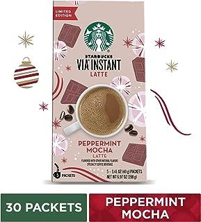 Starbucks VIA Instant French Roast Dark Roast Coffee (1 box of 50 packets)