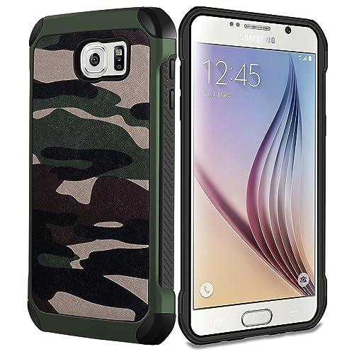 half off 07ed2 677f9 Camo Samsung Galaxy S6 Case: Amazon.com