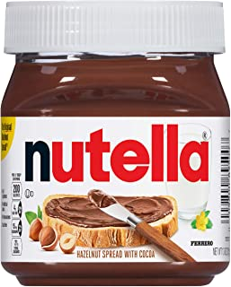 Nutella Chocolate Hazelnut Spread with Cocoa, 400 g