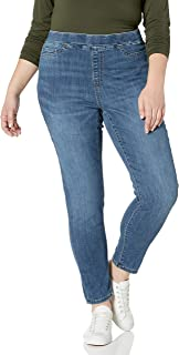 Women's Plus Size Pull-on Skinny Jegging