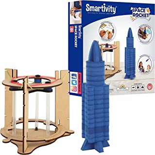 Smartivity Boys and Girls Blast off Space Rocket (6+ Years, Multicolor)
