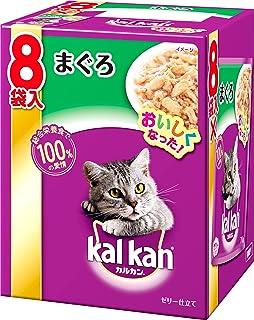 カルカン パウチ まぐろ キャットフード 成猫用 70グラム (x 8) (まとめ買い)