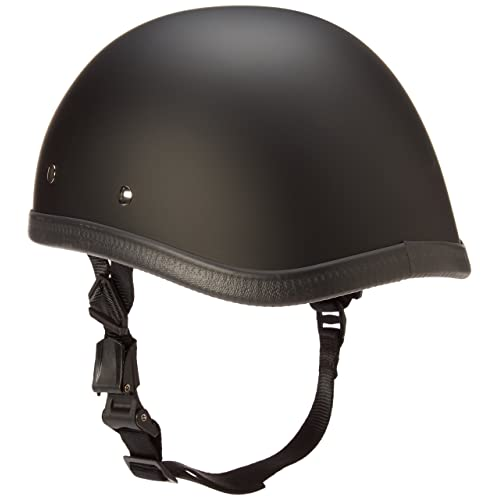 Eagle Dull Black Helmet Low Profile