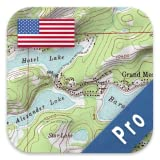 Offline Navigation US Topographic Maps Aerial Imagery Nautical Charts Flight Maps NOAA Real Time Weather Overlays MGRS / UTM Coordinates