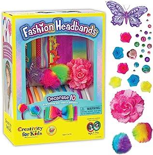 Fashion Headbands Craft Kit, Makes 10 Unique Hair Accessories