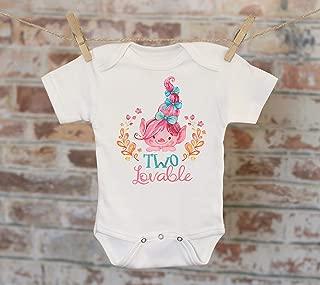 Two Lovable Pink Troll Shirt, Trolls Tee, Cute Kids Shirt, Girl Name Shirt