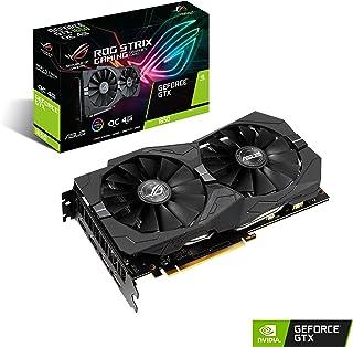بطاقة رسومات للألعاب Asus Rog Strix GeForce GTX 1650 بقدرة 4 جيجا بايت إصدار VR Ready HDMI 2.0 DP 1.4 (Rog-STRIX-GTX1650-O...
