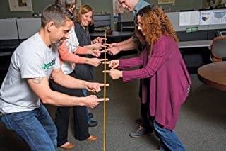 Helium Stick - Team Building Game, Promotes Collaboration, and Strengthens Problem Solving Skills