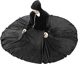 BIBILAB (ビビラボ) セルフこたつ 着る毛布 Lサイズ 2018モデル HFK-L-BK