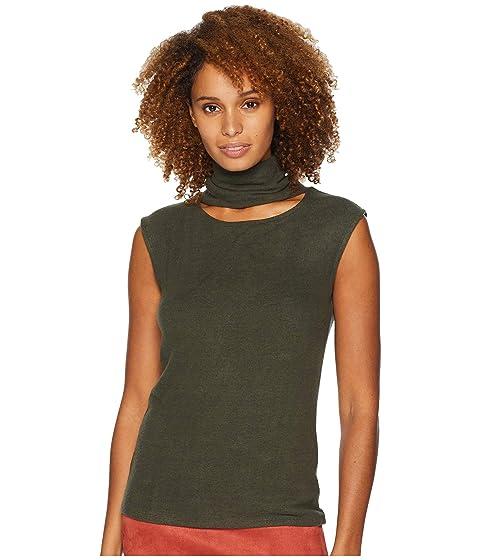 490b54e674a CATHERINE Catherine Malandrino Sleeveless Turtleneck Sweater w  Front Neck  Cutout