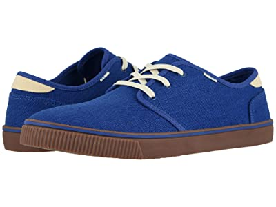 TOMS Carlo (Indigo Blue Heritage Canvas) Men