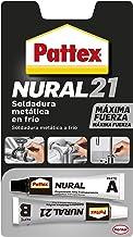 Pattex Nural 21, soldadura reparadora metálica en frío, pega&repara, 22 ml