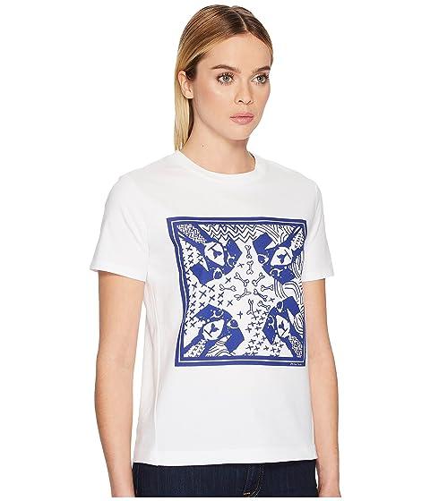 Camiseta perros Paul Blanco Azul Smith marino para wrEq5aZw