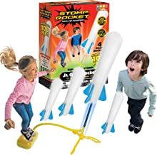 Stomp Rocket The Original Jr. Glow Rocket, 4 Rockets and Toy Rocket Launcher - Outdoor Rocket Toy Gift for Boys and Girls ...