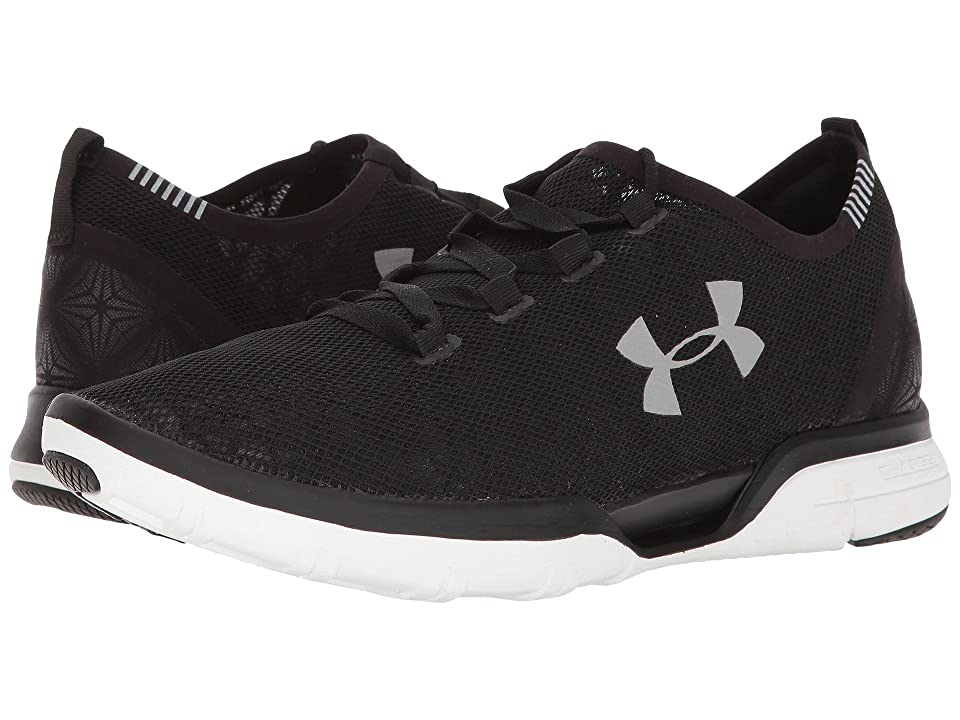 Under Armour UA Charged Coolswitch Run (Black/White/White) Men