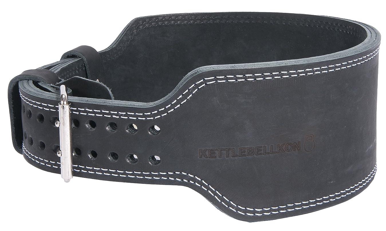 ストリップ侵入するモスKETTLEBELLKON(ケトルベル魂)ケトルベル用リフティングベルト 本格的にケトルベルリフティングに取り組む方向けのプロ仕様のリフティングベルト