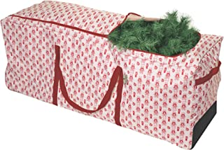 Paula Deen Christmas Tree Storage Organizer & Storage Container - Heavy Duty Large Holiday Bags With Wheels & Skid Plate, Best Organizer Bag for Decorations and Lights - Boxes Store Up To 9 Foot Trees