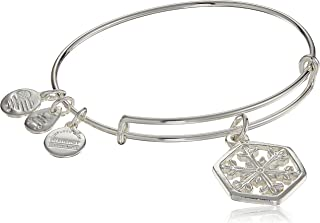 Amazon Exclusive Snowflake Bangle Bracelet