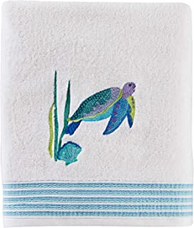 SKL Home by Saturday Knight Ltd. Watercolor Ocean Bath Towel, White