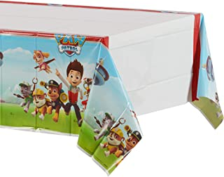 American Greetings Paw Patrol Party Supplies Plastic Table Cover, 54