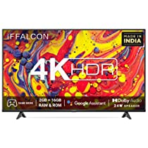 iFFALCON 126 cm (50 inches) 4K Ultra HD Certified Android Smart LED TV 50U61 (Black) (2021 Model)