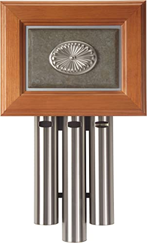 """popular Craftmade C3-PW Westminster Decorative 3 outlet sale Tube Short Door online Chime, Pewter (16.75""""H x 10""""W) online sale"""