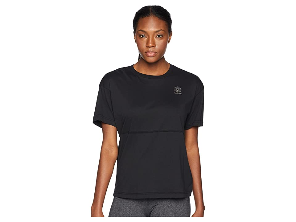 Reebok Classics Elevated Tee (Black) Women