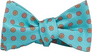 Peter-Blair Men's Aqua Camden 100% Silk Bow Tie Handmade in USA (39CDA1BT)