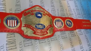 New Replica NWA United States Champion Belt Adult Size, Metal Plates & Bag