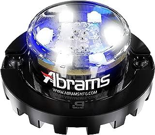 Abrams Blaster Emergency Vehicle LED Hideaway/Surface Mount Strobe Warning Light - Blue/White