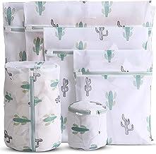 WestonBasics 6 Pcs Mesh Laundry Bags for Delicates with Cute Prints, Travel Storage Organizer Pack, Garment Washing Bags f...