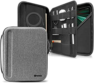 tomtoc Portfolio Case for iPad Pro 12.9-inch 2021/2020/2018, Protective Sleeve with Accessories Pocket, Carrying Storage B...