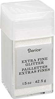 Glitz Extra Fine Glitter 1.5 Ounces Canister w/Pour or Shake Lid