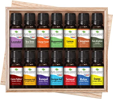 14 Essential Oil Set (7 Synergies and 7 Singles) 100% Pure
