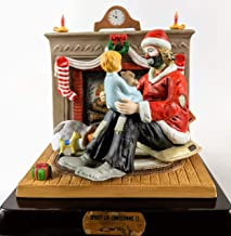 Spirit of Christmas II - 3pc Limited Edition, Porcelain Figurine Hand Signed by Emmett Kelly Jr.(on All 3 Pieces) w/Original Box