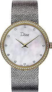 La D De Dior Satine 36mm Quartz Women's Watch