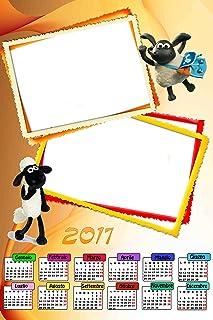 Personalisierte Kalender 2017 mit zwei Fotos, Fotos, Fotos, Art. 317, Format 30 x 45, komplett von Bewerbungsset und fer34 Wand. B01LX266A5  Macht das Leben e3612e