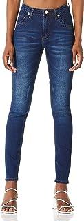 Demon&Hunter 608 Series Mujer Pantalones Vaqueros Elevar Curva Skinny