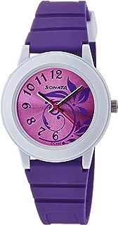 Sonata Analog Purple Dial Women's Watch -NJ8992PP03C