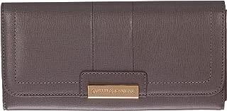Smith & Canova Women's Long Flap Over Closing Purse Wallet