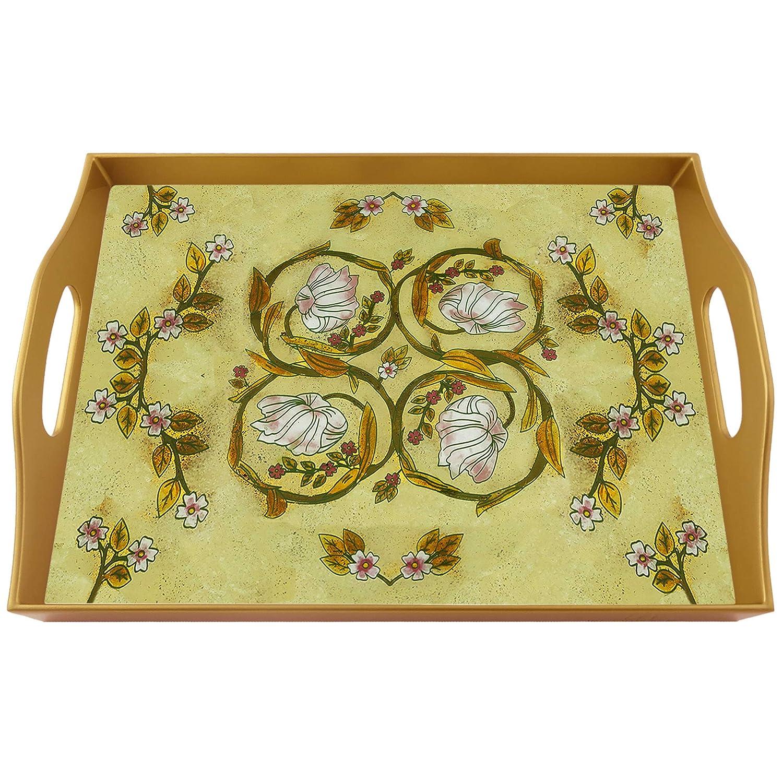 Custom platter - William Morris Botanical Rectangular Excellent Art Hand Max 69% OFF