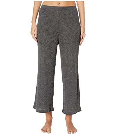 Skin Melinda Wool and Cashmere Blend Crop Pants (Dark Charcoal) Women