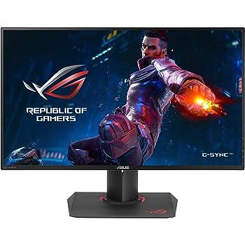 "ASUS ROG Swift PG279QZ 27"" WQHD 1440P IPS 165Hz DP HDMI Ergonomic Eye Care G-Sync Gaming Monitor"