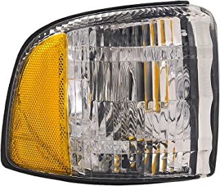 HEADLIGHTSDEPOT Compatible with Dodge Ram Pick Up Corner Signal Park Light W//O Sport Driver Side New CH2520119