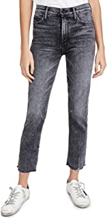 MOTHER Women's High Waisted Rascal Ankle Snip Jeans