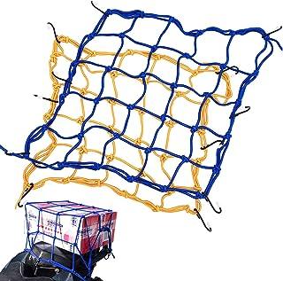 JJYHEHOT Motorrad Gepäcknetz Motorrad Netz, Fester Zusatzhelm Oder Rucksack Zur Erleichterung des Reisens (2 Stück)